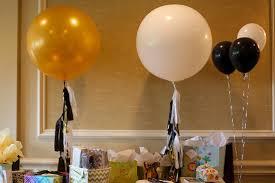 modern stork themed baby shower in black white u0026 gold the