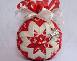 fabric ornament etsy