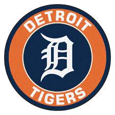 tigers logo roundel mat 27