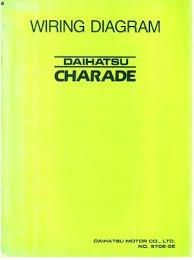 daihatsu charade 1988 wiring diagram manual
