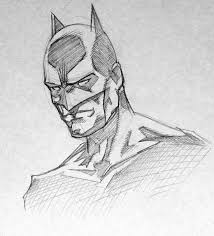 batman pencil sketch by hopeslast on deviantart