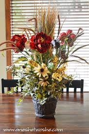silk flower centerpieces diy silk flower arrangement centerpiece saved me 100 bucks