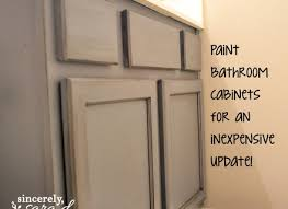 Painting Bathroom Cabinets Color Ideas by Creative Of Painting Bathroom Cabinets Ideas For Home Decorating