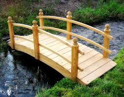 backyard bridges treated pine keira double rail garden bridge