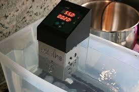 thermoplongeur cuisine test du thermoplongeur d addélice dans un bac de 20 litres cuisine