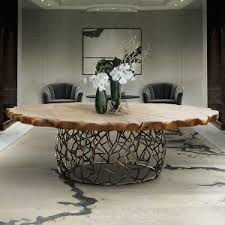 large round dining table luxury dining tables robson furniture