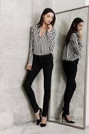 black and white striped blouse the striped blouse voguehaus fashion and style black