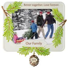 better together family photo holder ornament keepsake ornaments