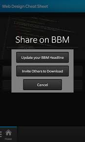 made my first bb10 app