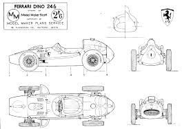 ferrari 246 f1 blueprint nurbs pinterest ferrari sports