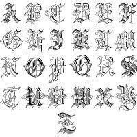 25 unique old english alphabet ideas on pinterest old english