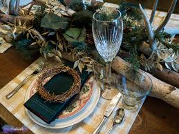 Crate And Barrel Napkins Entertaining And Dinner Parties Christmas Tablescape 2016 The
