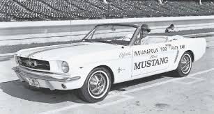 mustang of indianapolis 64 ford mustang indy 500 pace car