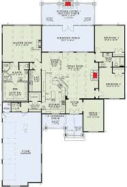 Corner House Floor Plans Plan 60671nd Rustic Mountain Home Plan Craftsman Pantry And