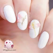 piggieluv 3d flower petal wings nail art