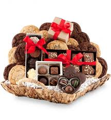 chocolate gift basket chocolate paradise cookie gift baskets your