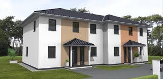 Doppelhaus Doppelhaus Stadtvilla Amex Hausbau Gmbh