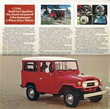 toyota land cruiser brochure rugged and reliable 1978 toyota land cruiser brochure hemmings