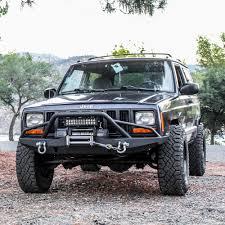 jeep bumper tuff stuff jeep cherokee xj front bumper xj bumper pinterest