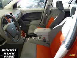 2007 Dodge Caliber Interior Pastel Slate Gray Orange Interior 2007 Dodge Caliber Sxt Photo