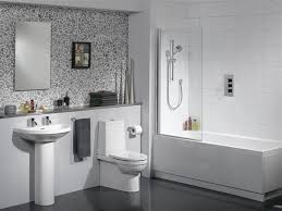 bathroom shower ideas for small bathrooms wall tile decoration for white scandinavian bathroom