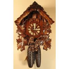 Blue Cuckoo Clock Cuckoo Clocks German Authentic Black Forest Clockshops Com