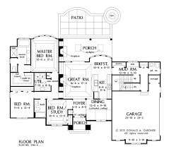house plan the avant by donald a gardner architects