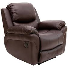 madison electric leather automatic recliner armchair sofa home