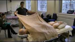 No Draping Massage Massage Towel Technique Using Towels Youtube