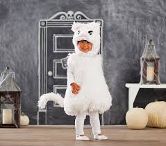 Toddler Cat Halloween Costume Toddler White Kitty Costume Pottery Barn Kids