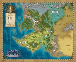 Pathfinder World Map by World Map By Belibr On Deviantart