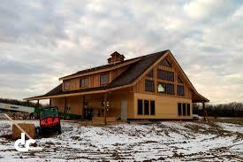 custom barn home in jerseyville illinois dc building ideas