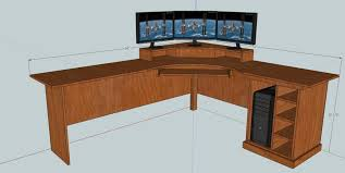 How To Build An L Shaped Desk Home Design How To Build An L Shaped Desk Corner Desk Build