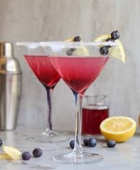 lemon drop martini blueberry lemon drop on the range