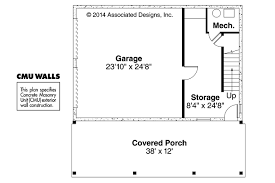 20 x 24 garage plans craftsman house plans garage w apartment 20 067 associated designs