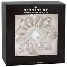 snowflake 2017 premium metal hallmark ornament specialty