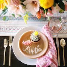 Table Setting Cards - wedding place cards martha stewart weddings