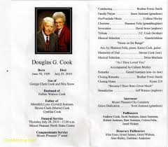 funeral program fresh free funeral program templates best templates