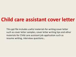 child care aide cover letter