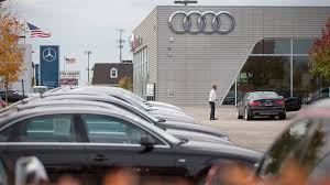audi dealership exterior audi mechanic commits after coworkers reportedly set him