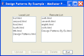 pattern design java design patterns by exle in java mediator pattern mediator