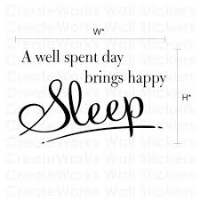 Bedroom Wall Stickers Sayings Sleep Bedroom Wall Quote Sticker Wa260x