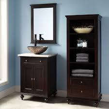 bathroom keller mahogany linen storage cabinet dark espresso