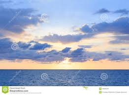 Soft Blue Color A Soft Cloud And Sunset Background With A Pastel Color Blue To O
