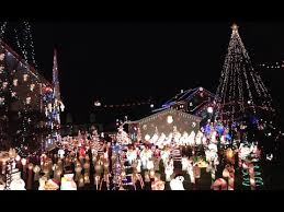 christmas lights in pa amazing christmas display in peckville pa 2015 youtube