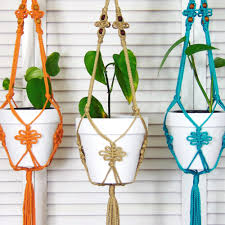 hanging plant holders home design ideas