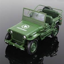 alloy 1 18 tactical military model jeeps old world war ii willis