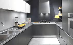grey kitchen cabinets with grey wood flooring grey laminate