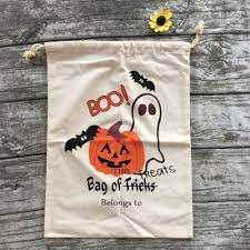 toddler halloween treat bags online shop 2016 halloween bags beige cloth halloween buckets
