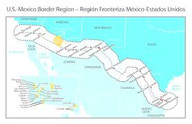 Coahuila Mexico Map by Map Of Mexico Regions Evenakliyat Biz